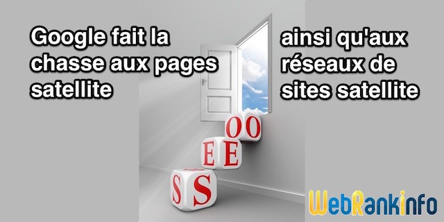 SEO Google et pages satellite