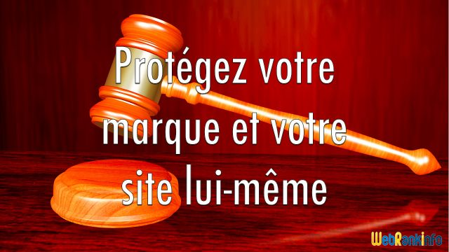 Protection marque site Internet
