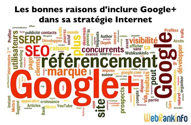 Raisons d'investir Google Plus