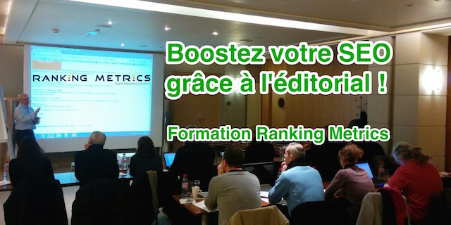 Formation SEO éditorial