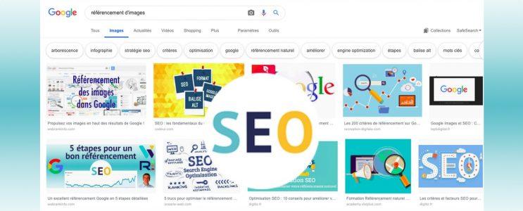 Référencement des images dans Google