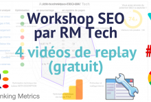 Replay gratuit workshop RM Tech