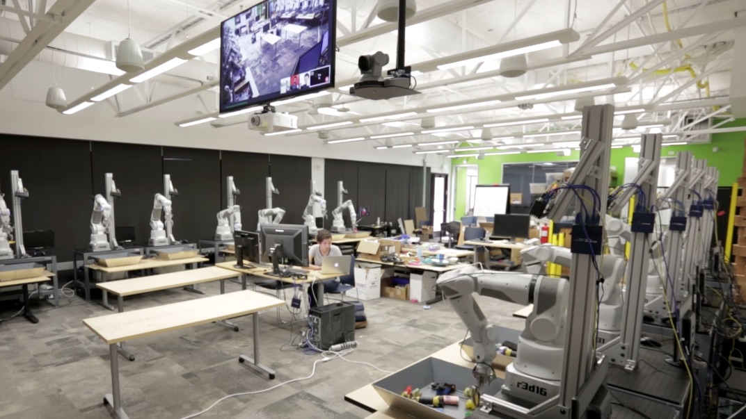 Robots et machine learning