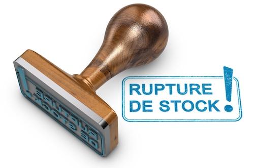 rupture de stock et référencement