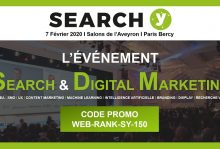 Search Y 2020 : code promo WebRankInfo