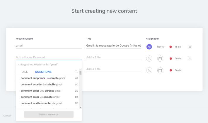Planifier un nouveau contenu dans Semji