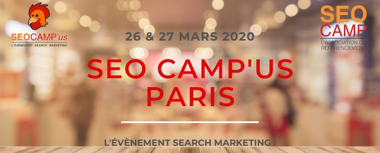SEO Campus Paris 2020