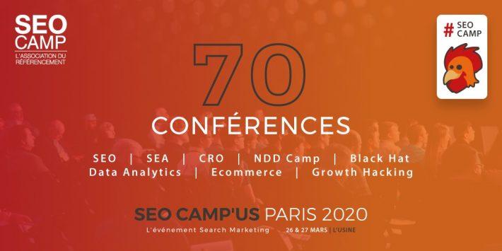 Conférences SEO Campus Paris 2020