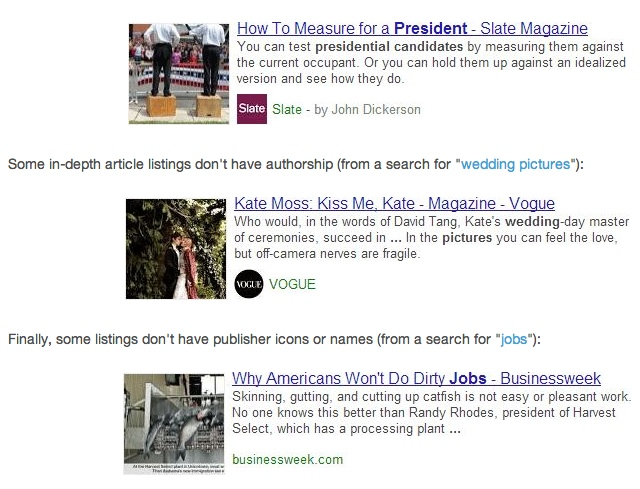 Articles de fond sur Google : étude Moz