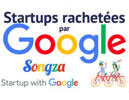 Startups rachetées par Google