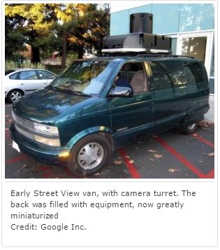 Les débuts de Street View pour les pros