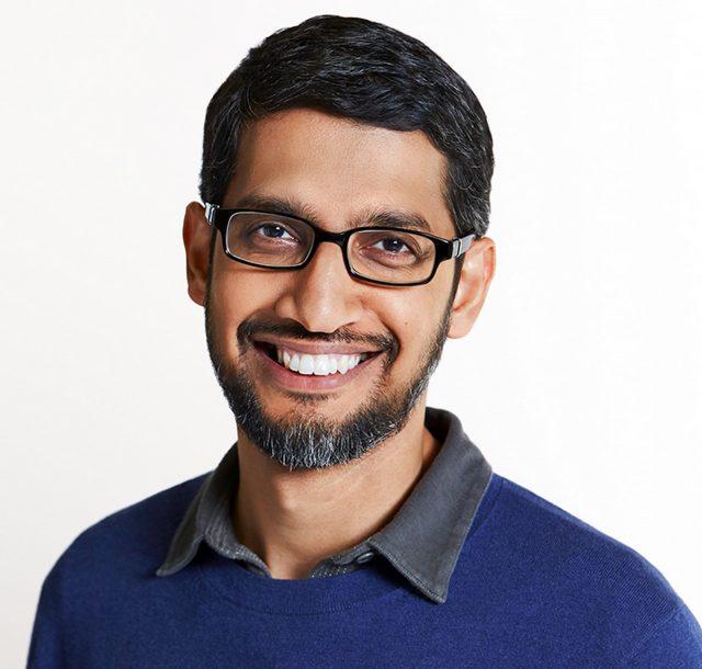 Sundar Pichai, CEO de Google et Alphabet