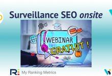 Webinar : surveillance SEO onsite de tout un site
