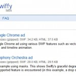 Swiffy : conversion de Flash en HTML5