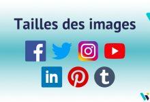 Tailles images réseaux sociaux