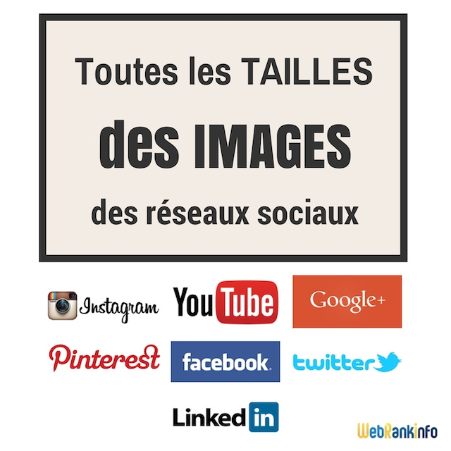 taille des images facebook twitter google en 2016. Black Bedroom Furniture Sets. Home Design Ideas