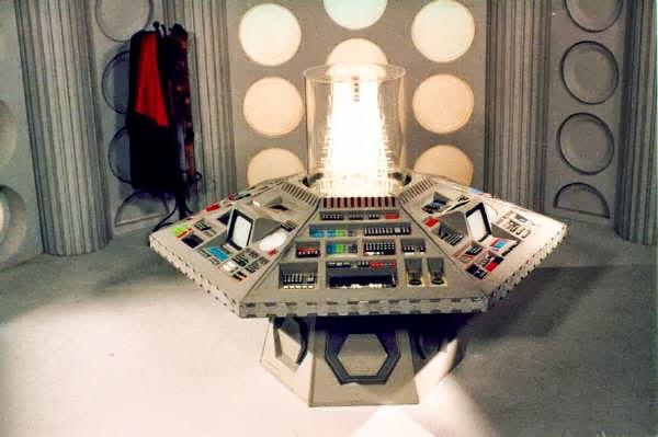 Intérieur TARDIS Dr Who