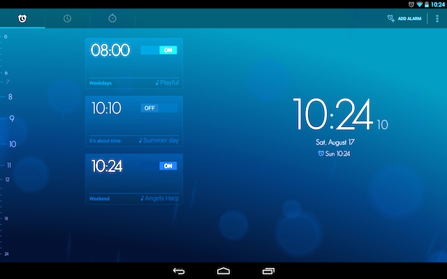 Appli Android Timely