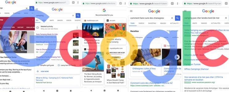 Tout sur Google Search