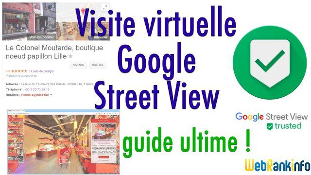 Visite virtuelle Google pour les professionnels
