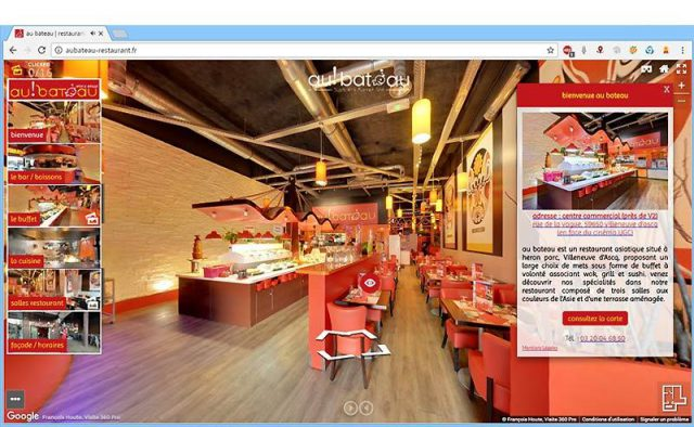 Visite virtuelle site 360°