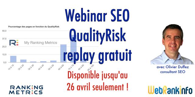 Replay du webinar QualityRisk