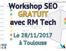 Workshop SEO gratuit à Toulouse