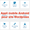 Appli mobile Android Wordpress