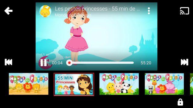 Vidéo YouTube Kids