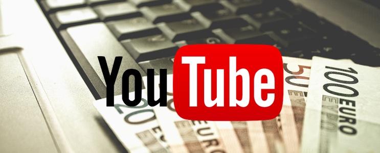 revenus YouTube : combien gagner d'argent