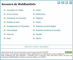 Modification de vos sites dans l'annuaire
