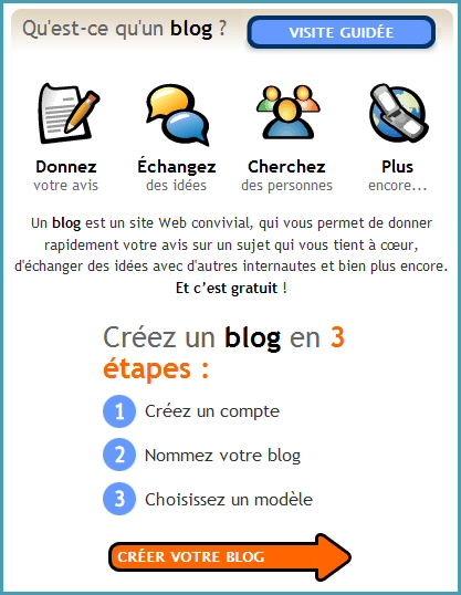 Blogger en Français