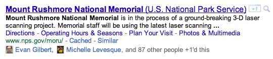 Statistiques : nombre de clics sur le bouton +1 Google