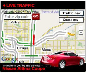 Annonce Google Gadget avec Google Maps