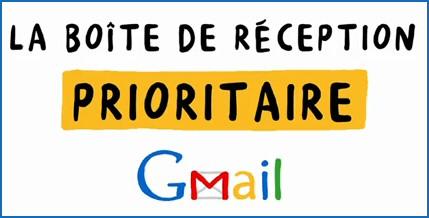 Boite de reception prioritaire Gmail