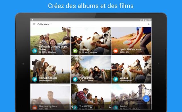 Comment Créer un album sur Google Photos