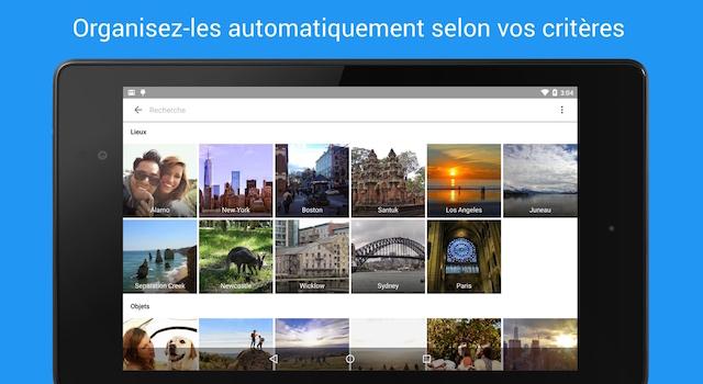 Classer ses photos par lieux ou tags sur Google Photos