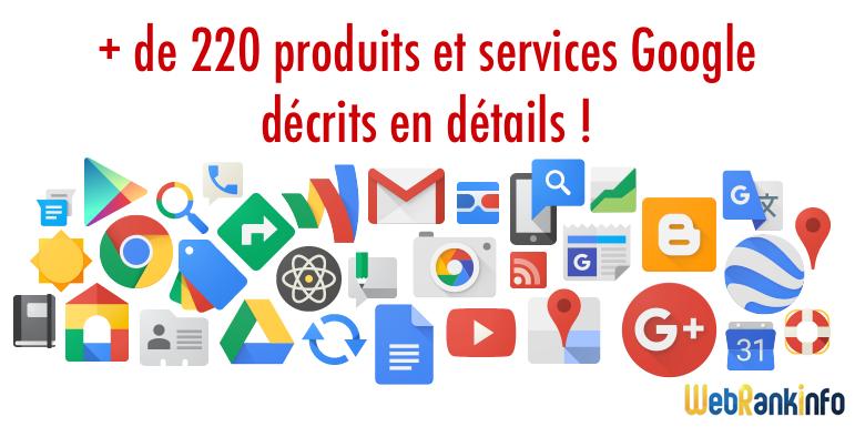 Porduits et Services Google