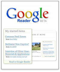Le partage d'infos dans Google Reader