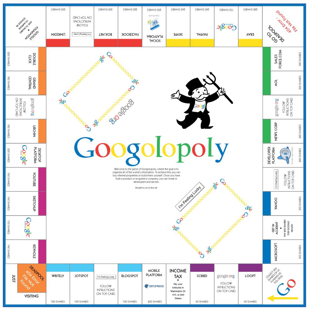 Monopoly für die Generation Internet | Herbert Mühlburger