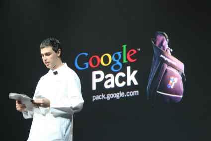Larry Page au CES 2006