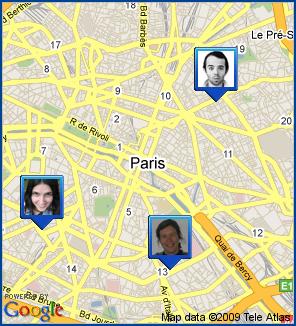 Localiser ses amis avec Google Latitude