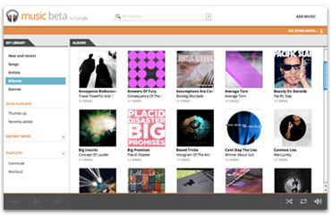 Gestion de bibliothèque musicale sur Google