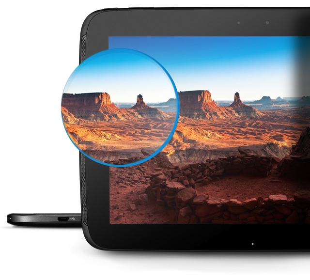 Ecran 300ppp Nexus 10