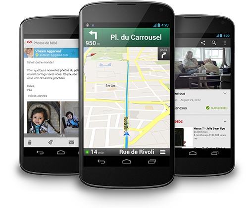 Tout Google dans votre mobile