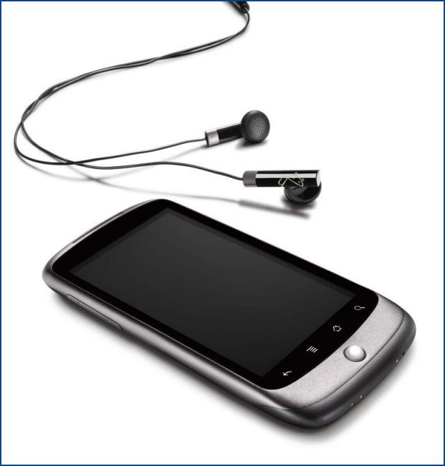 Le Nexus One: vue 3D