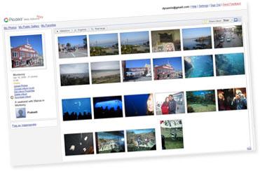 Albums web Picasa