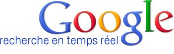 Recherche temps réel sur Google