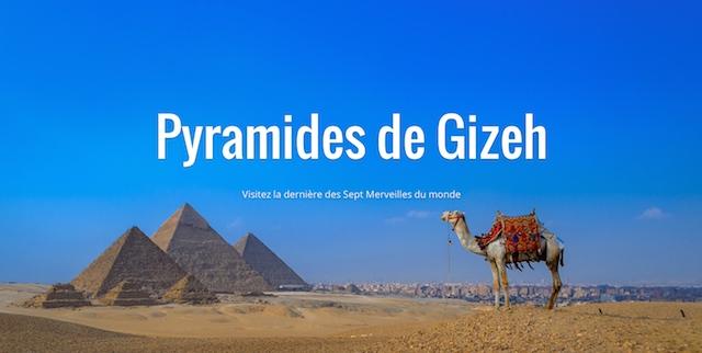 Pyramides de Gizeh (Egypte) Street View