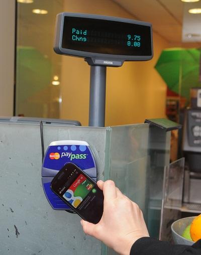 Terminal de paiement NFC Google Wallet